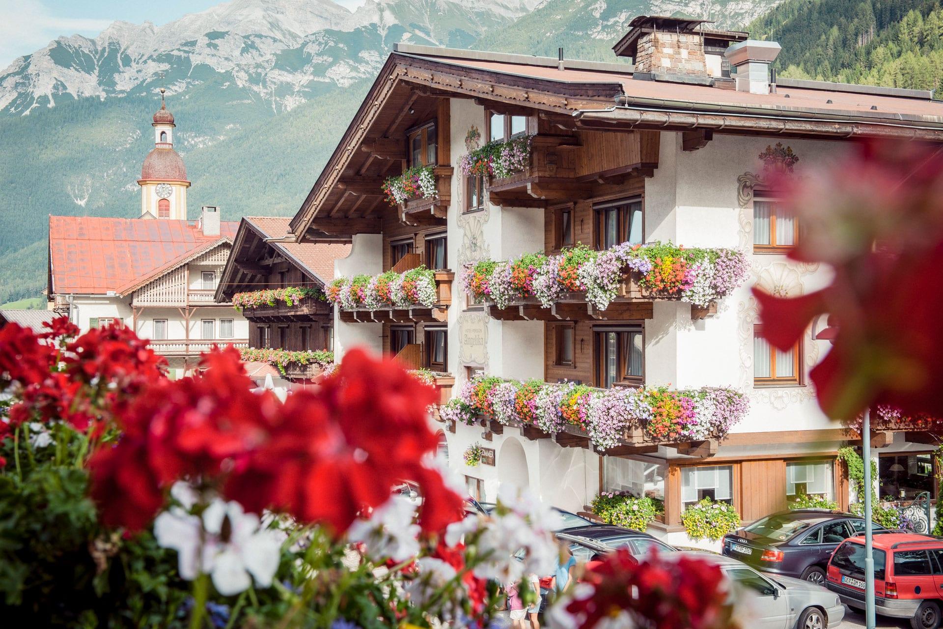 hotel angelika - aussenansicht - urlaubsfreuden